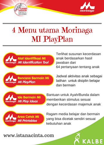 Menu MI PlayPlan