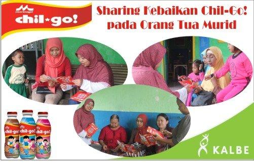 Sharing Info Chil-Go! pada Orang Tua Murid