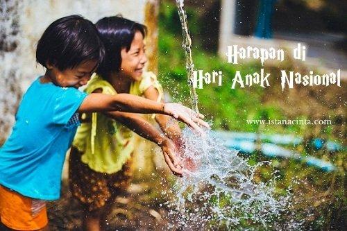 Harapan di Hari Anak Nasional