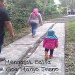 Mengajak Salfa ke Goa Margo Trisno