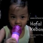 Gaya Belajar Anak Day 01: Hafal Lagu Kebangsaan