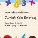 Menstimulus Anak dengan Matematika Logis (Day 8): Jumlah Kaki Binatang