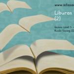 Menstimulasi Anak Suka Membaca (Day 17): Liburan Terbaikku Part 2