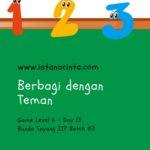 Menstimulus Anak dengan Matematika Logis (Day 13): Berbagi dengan Teman