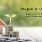 Melatih Anak Cerdas Finansial (Day 12) : Kebutuhan vs Keinginan