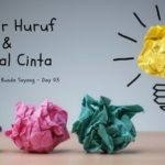 Think Creative – Day 3: Belajar Huruf dan Bantal Cinta
