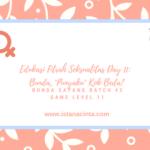 """Edukasi Fitrah Seksualitas Day 11: Bunda, """"Punyaku"""" Kok Beda?"""