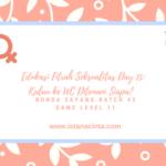 Edukasi Fitrah Seksualitas Day 15: Kalau ke WC Ditemani Siapa?