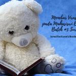 Menebar Virus Literasi pada Mahasiswi Bunda Sayang Batch #5 Surabaya 2