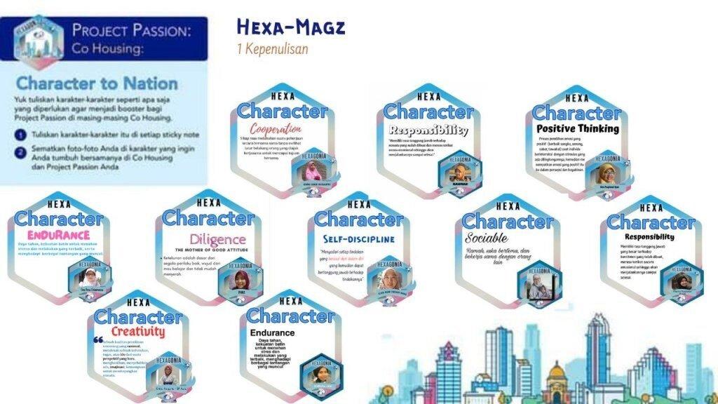 projek hexa mags co housing 1