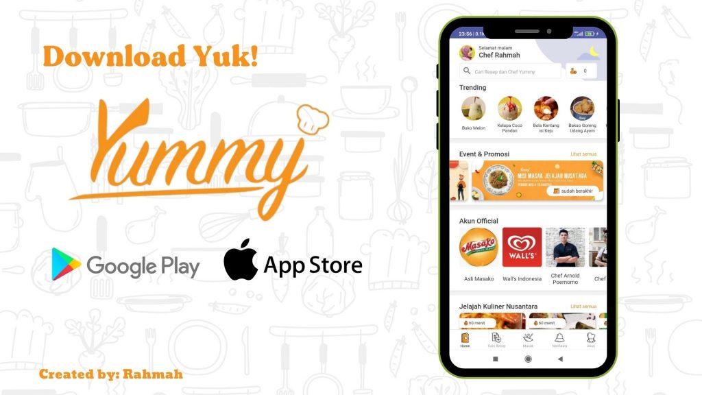 Download Yummy App dengan Mudah