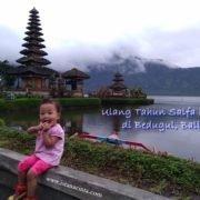 Ulang Tahun Salfa Kedua di Bedugul, Bali
