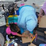 Gaya Belajar Anak Day10: Bikin-Bikin di Taman