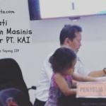 Gaya Belajar Anak Day 03: Mengamati Pekerjaan Masinis di Kantor PT. KAI