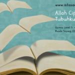 Menstimulus Anak Suka Membaca (Day 10): Allah Ciptakan Tubuhku