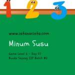 Menstimulus Anak dengan Matematika Logis (Day 7): Minum Susu