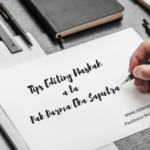 Kuliah WhatsApp: Tips Editing Naskah a la Pak Darma Eka Saputra