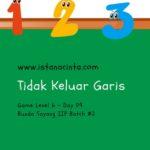 Menstimulasi Anak dengan Matematika Logis (Day 9): Tidak Keluar Garis