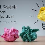 Think Creative – Day 05: Bantal, Sendok dan Boneka Jari