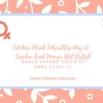 Edukasi Fitrah Seksualitas Day 10: Siapkan Anak Menuju Akil Baligh