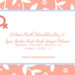 Edukasi Fitrah Seksualitas Day 13: Ajari Gender Pada Anak dengan Pakaian
